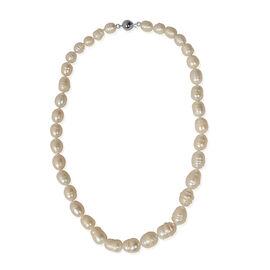 Cameo Simulated Pearl Necklace