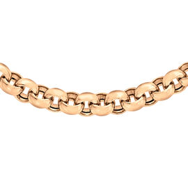 Close Out Deal 9K R Gold Belcher Necklace (Size 18), Gold wt 17.50 Gms.