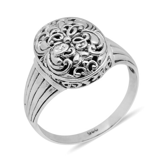 Royal Bali Collection Sterling Silver Ring, Silver wt 5.10 Gms.