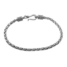 Royal Bali Collection Sterling Silver Bracelet (Size 7.5), Silver wt 10.81 Gms.