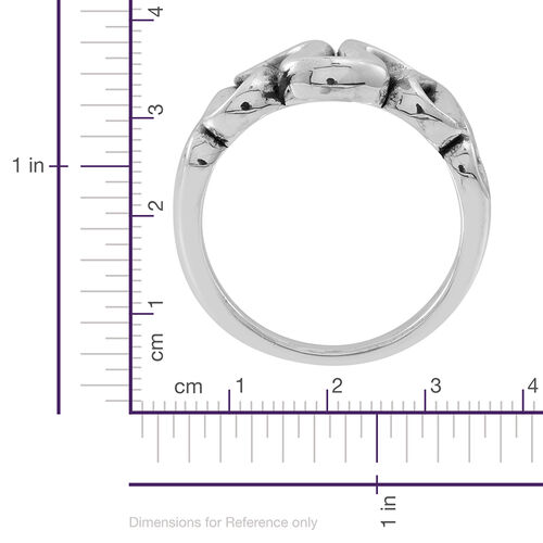 Statement Collection Sterling Silver Ring, Silver wt 3.80 Gms.