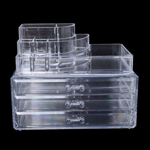 Transparent Cosmetic Organizer (Size 23x18.6x13 Cm)