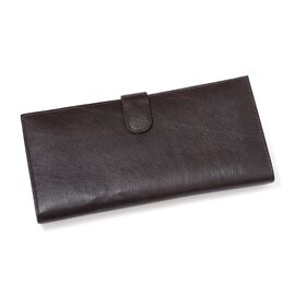 Close Out Deal Chocolate Colour Genuine Leather Ladies Purse