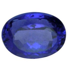 IGI Certified Tanzanite (Faceted Oval 14.57x11.56 4A) 8.520 Cts  (GT12114014) 8.520 Ct.