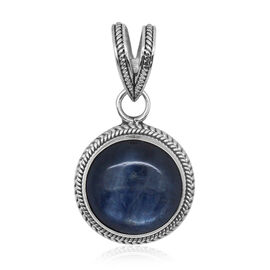 Royal Bali Collection Himalayan Kyanite (Rnd) Pendant in Sterling Silver 12.580 Ct.