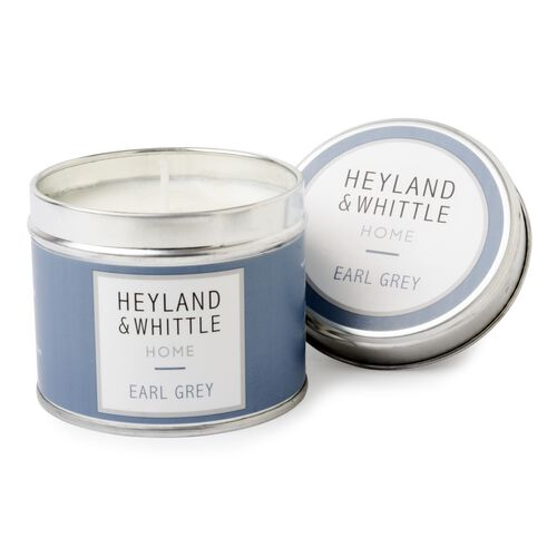 Heyland and Whittle Earl Grey Candle in a Tin 180g