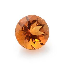 Madeira Citrine (Rnd 8 mm Faceted 2A) 1.390 Ct.