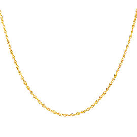 Royal Bali Collection 9K Y Gold Prince of Wales Necklace (Size 30), Gold wt 6.00 Gms.