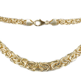 JCK Vegas Collection 9K Yellow Gold Necklace (Size 20), Gold Wt. 14.90 Gms.