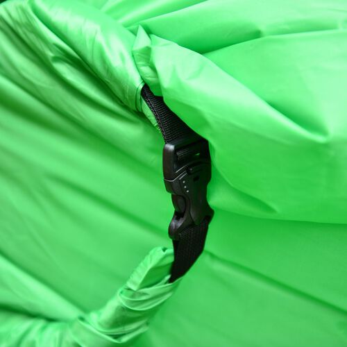 Green Colour Self Inflating Air Lounger with Carry Pouch
