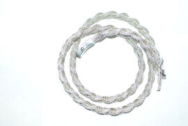 Royal Bali Collection Sterling Silver Necklace (Size 20), Silver wt. 58.00 Gms.
