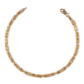 Ottoman Treasure ILIANA 18K Yellow Gold Byzantine Necklace (Size 18), Gold wt 6.02 Gms.