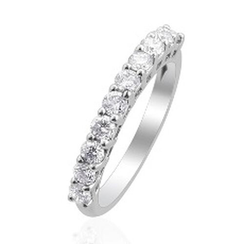 RHAPSODY 950 Platinum Diamond (Rnd) Ring  0.750 Ct.