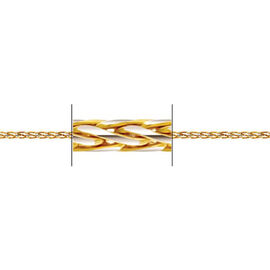 Limited Available 22K Y Gold Spiga Necklace  (Size 20), Gold wt 8.70 Gms.