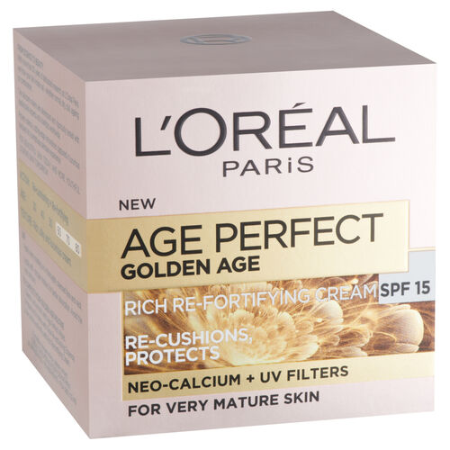 LOreal Paris Age Perfect Golden Age Rich Re-Fortifying SPF15 Day Cream, 50 ml