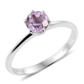 RHAPSODY 950 Platinum 1 Carat Kunzite Solitaire Ring