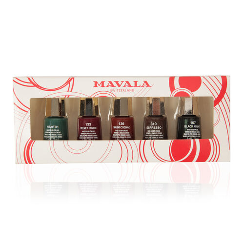 Mavala 5 Nail Polish Set - Classic Winter Colours