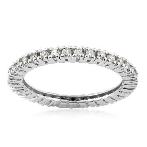 ILIANA 18K W Gold Diamond (Rnd) Ring  0.720 Ct.