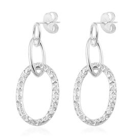 RACHEL GALLEY Allegro Charm Earrings (with Push Back) in Sterling Silver.