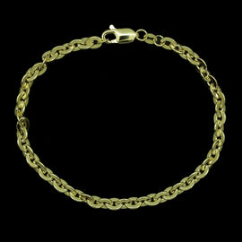 Royal Bali Collection 9K Y Gold Bracelet (Size 7.5), Gold wt 3.60 Gms.