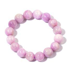 Rare Round AAA Kunzite Bracelet (Size 7.5)