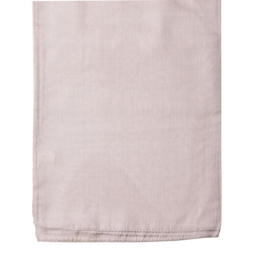 100% Mulberry Silk Hazelwood Colour Scarf (Size 180x110 Cm)