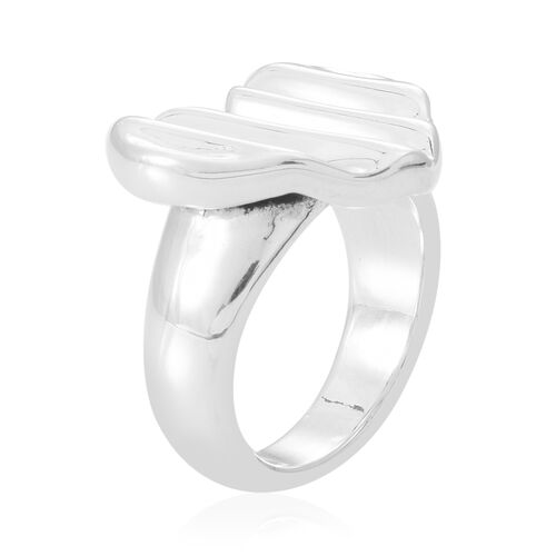 Thai Sterling Silver Heart Ring, Silver wt 5.80 Gms.