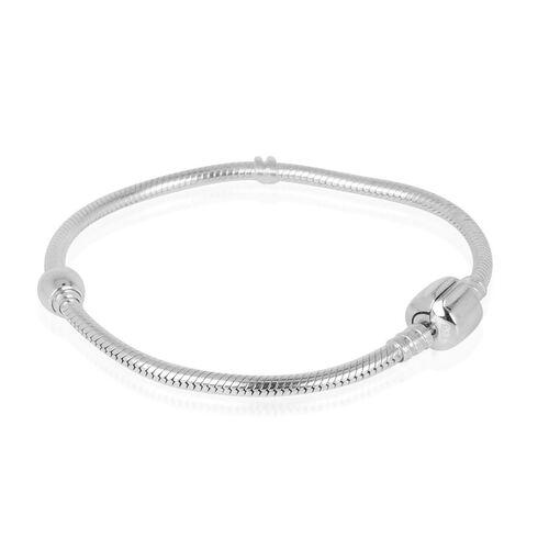 Sterling Silver Charm Bracelet (Size 7.5) 15.70 Grams