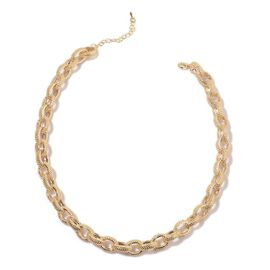 Necklace (Size 18) in Gold Tone