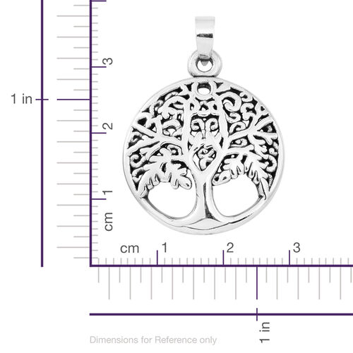 Sterling Silver Tree of Life Pendant, Silver wt. 3.01 Gms.