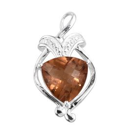 Autumn Alexite (Trl) Solitaire Pendant in Sterling Silver 2.750 Ct.