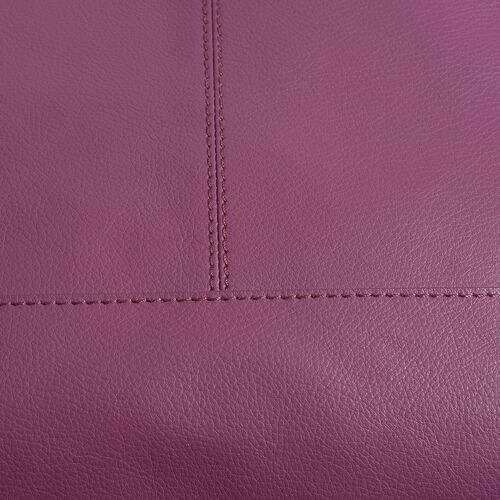 Pottery Genuine Leather Purple Colour Shoulder Bag