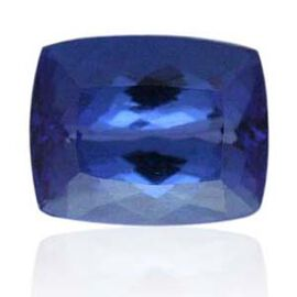 IGI Certified Tanzanite (Cush 11.81x9.13 mm Faceted 4A) 5.820 Ct. (GT3J127016)
