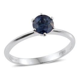 RHAPSODY 950 Platinum 1 Carat Blue Sapphire Solitaire Ring