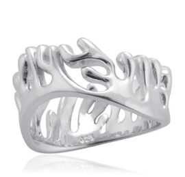 LucyQ Full Ocean Ring in Sterling Silver 6.00 Gms.