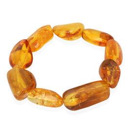 Amber Stretchable Bracelet (Size 7.5) 115.000 Ct.
