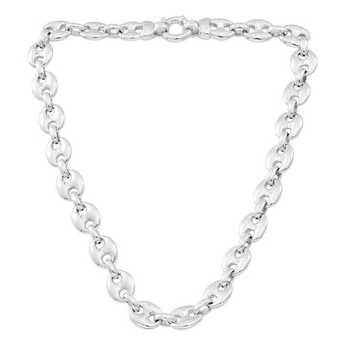 Designer Inspired Silver Mariner Necklace (Size 19), Silver 45.80 Gms.