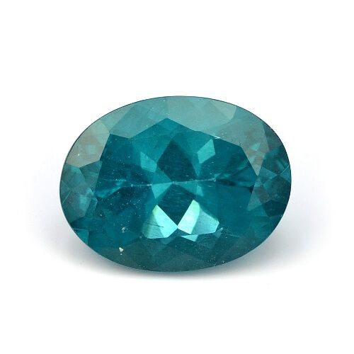Paraiba Apatite (Ovl Faceted 3A) 4.030 Ct.