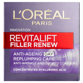 LOreal Paris Revitalift Filler Renew Anti Ageing Day Replumping Care 50ml