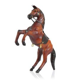 Made in India -  Handmade with Genuine Leather  Horse Ornament