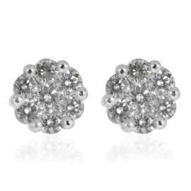 ILIANA 18K Y Gold IGI Certified Diamond (Rnd) (SI/ G-H) Stud Earrings (with Screw Back) 0.500 Ct.