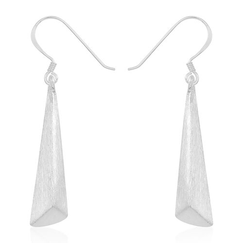 Thai Sterling Silver Hook Earrings, Silver wt 4.21 Gms.