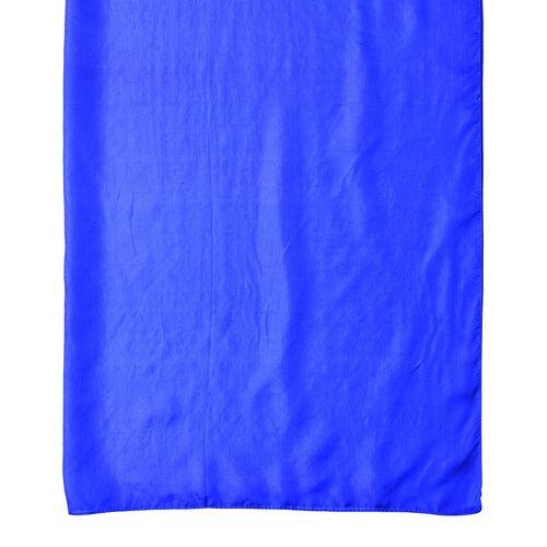 Pantone Collection - 100% Mulberry Silk Lapis Blue Colour Scarf (Size 175X90 Cm)