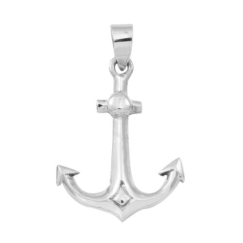 Thai Sterling Silver Anchor Pendant, Silver wt 3.89 Gms.