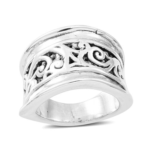 Thai Sterling Silver Ring, Silver wt 5.40 Gms.