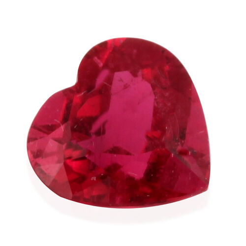 Rubellite (Heart Free Faceted 3A) 2.010 Cts