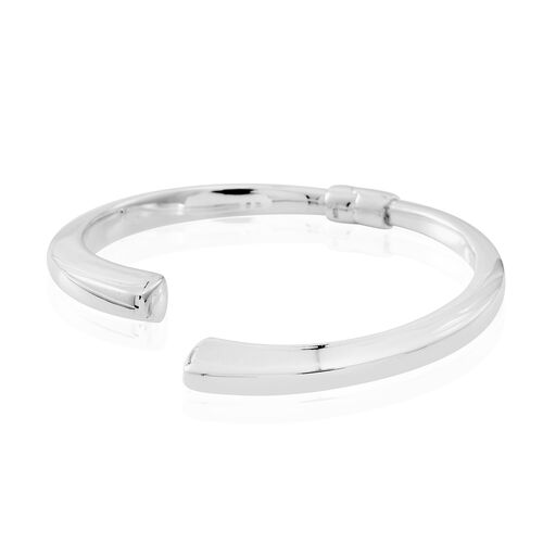 Limited Edition - Thai Sterling Silver Cuff Bangle (Size 7.5), Silver wt. 11.50 Gms.