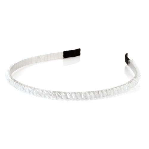 Limited Edition- Faceted Marquise Crystal Hairband