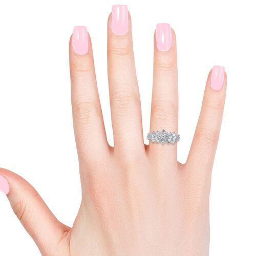 ILIANA 18K W Gold IGI Certified Diamond (Rnd) (SI/G-H) Ring 1.000 Ct.