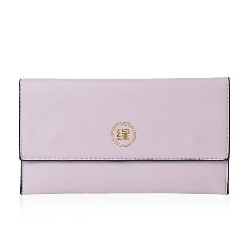 Set of 2 - New Season YUAN COLLECTION Black and Cream Colour Clutch (Size 21x12 Cm)